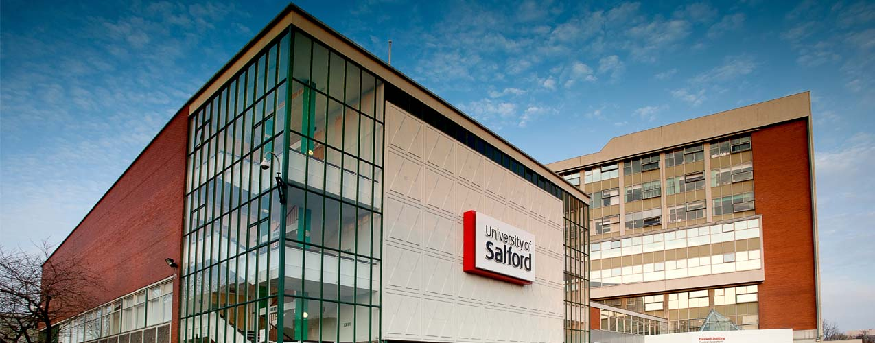 University of Salford building