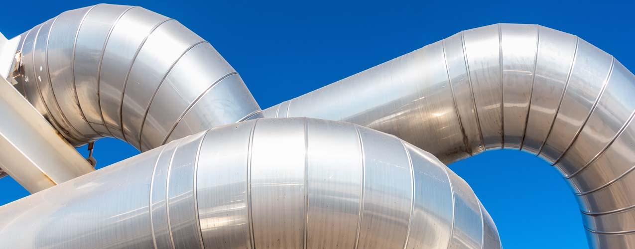 Steel large tubing