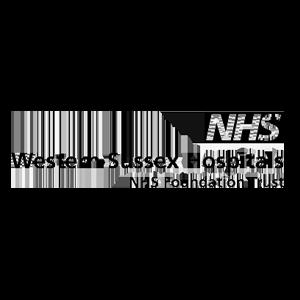 NHS Western Sussex Hospitals logo