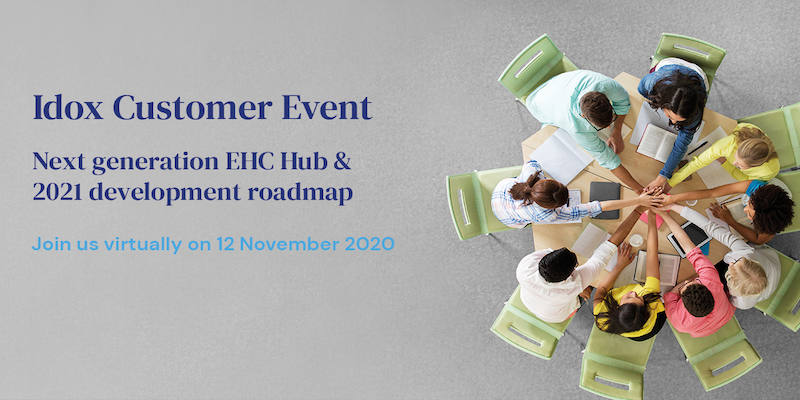 Idox customer event for EHC Hub