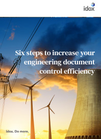 Six Steps to increase your engineering document control efficiency