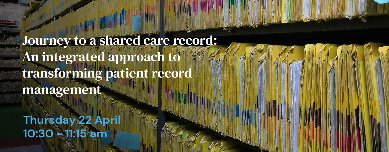 Journey to a shared care record